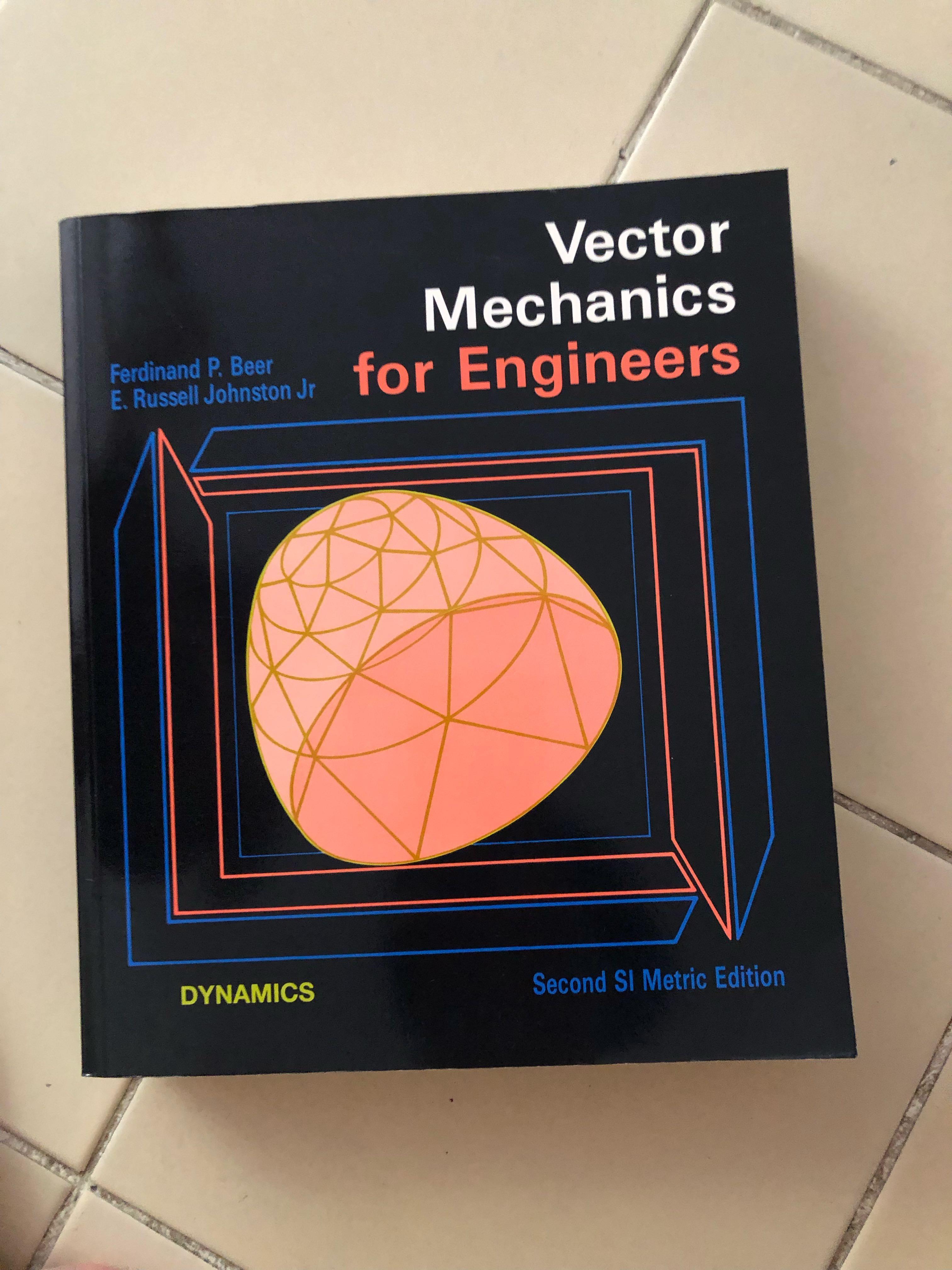 Vector mechanics for engineer textbook