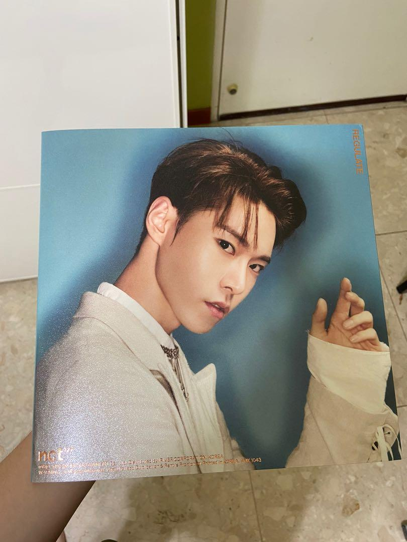 [WTS] NCT127 REGULATE ALBUM UNSEALED WITH PC DOYOUNG VERSION