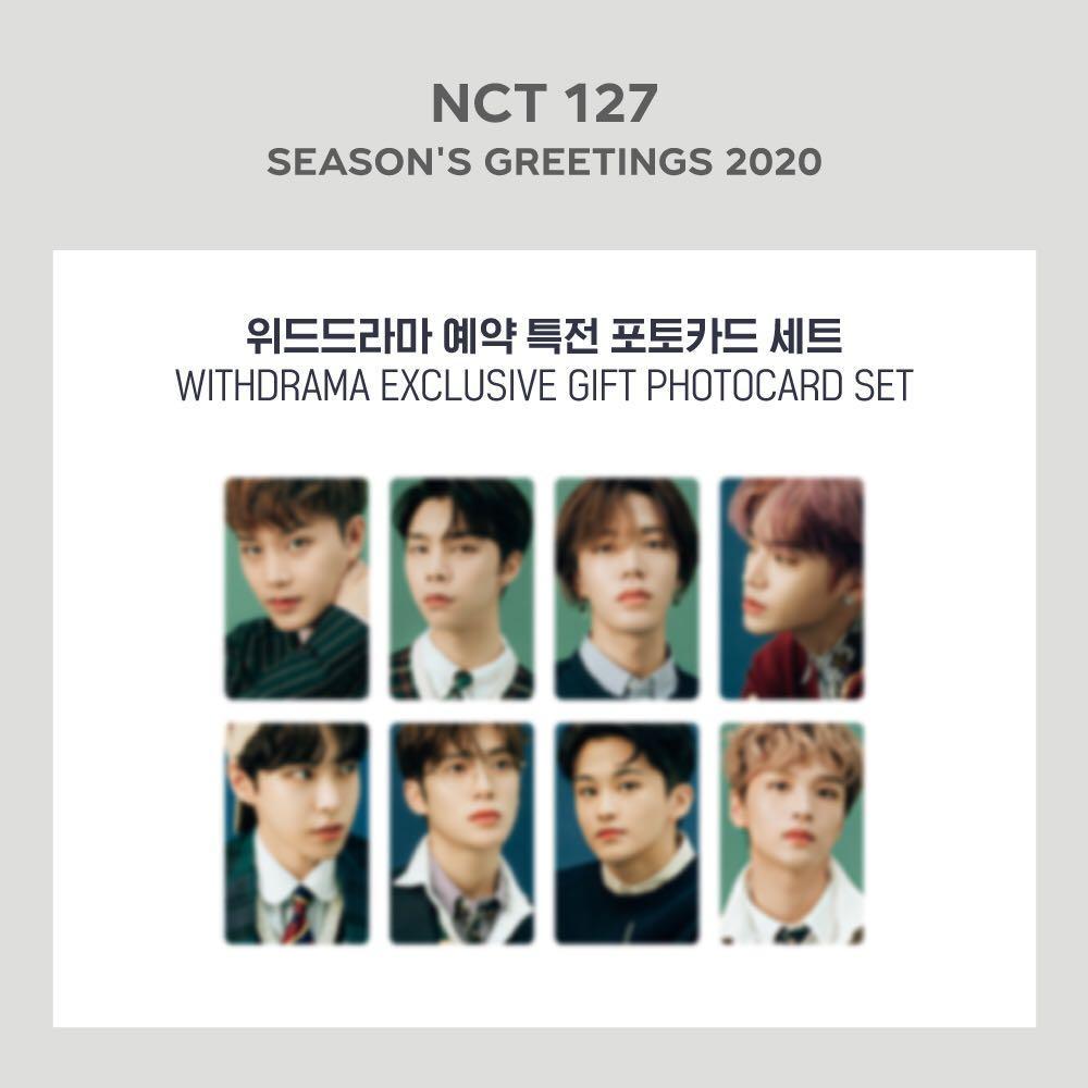 [WTS] NCT 127 2020 Season's Greetings Withdrama POB PC