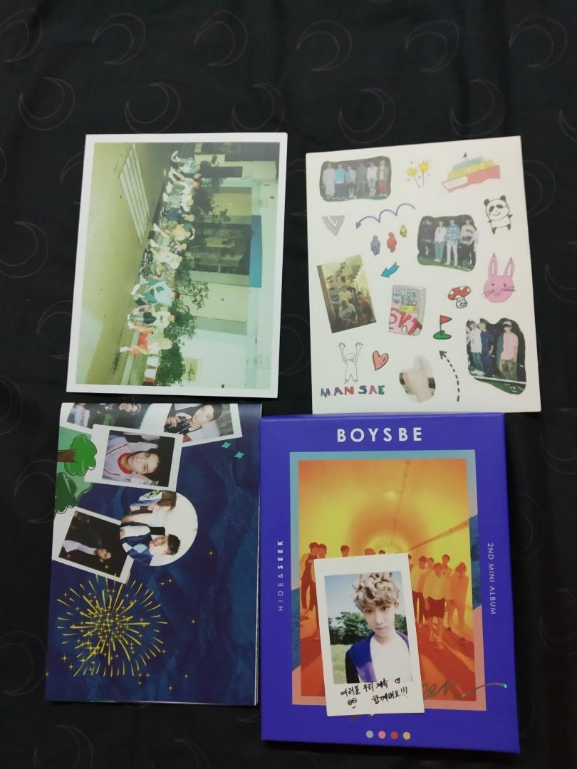 WTS Seventeen Boys Be Seek Ver Minghao Photocard Set