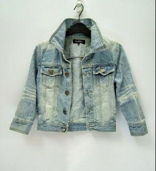 Denim Jeans Cropped Jacket