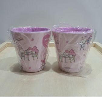 My Melody Cups set