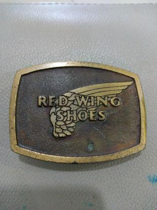 Red Wing Shoe Belt Buckle