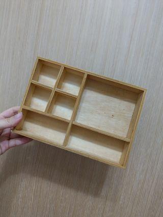 木質多格收納