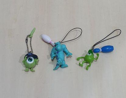 Monster Inc Keychains