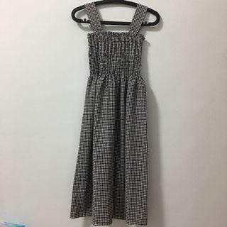 全新格紋洋裝