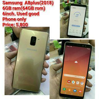 Samsung  A8plus(2018) 6GB ram 64GB