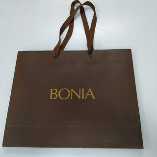 Bonia paper bag 41cm width x 33cm Height