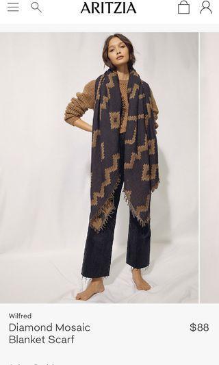 BRAND NEW Aritzia Blanket Scarf