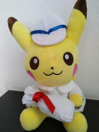 Pikachu soft doll