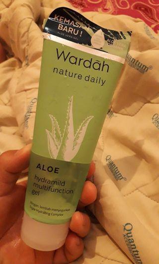 Wardah Aloe Vera Gel isi 99%