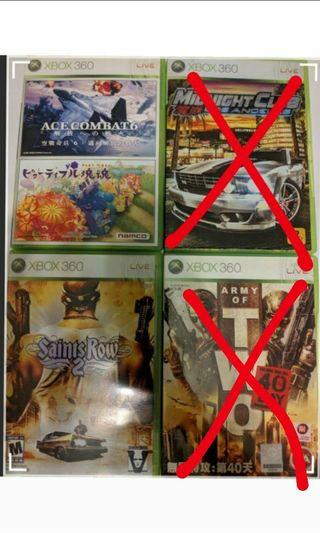 (可議)Xbox 360 遊戲