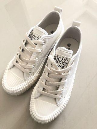 白鞋 38號 全新