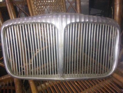 Old Car Radiator Cover 1960s