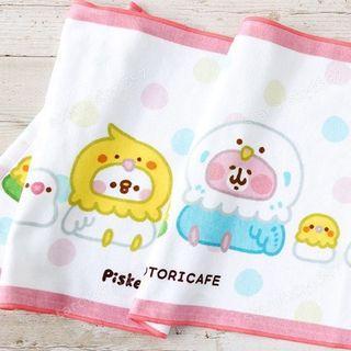 卡娜赫拉 x 鳥咖啡廳 限定款 小鳥 長條型運動毛巾 卡娜赫拉的小動物們 毛巾 KANAHEI 日本 全新 熱銷 絕版品