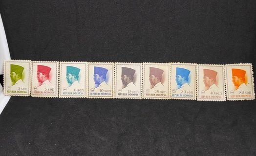 Perangko Kuno Soekarno Tahun 1966 Langka Mint Koleksi Filateli