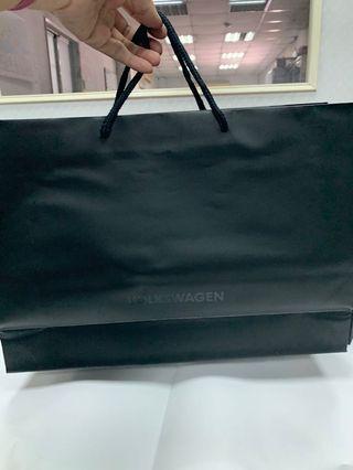 黑色20個合購價包裝紙袋/手提袋,共120元