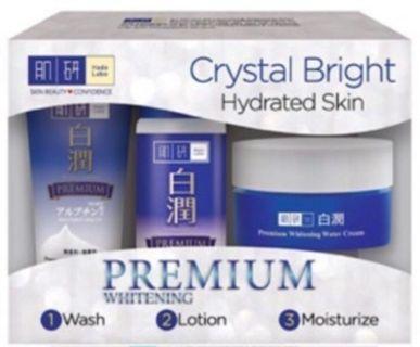 FREE POSTAGE Hada labo trial set premium whitening