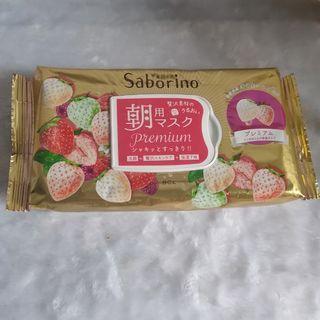 BCL Saborino奢華早安面膜-白草莓
