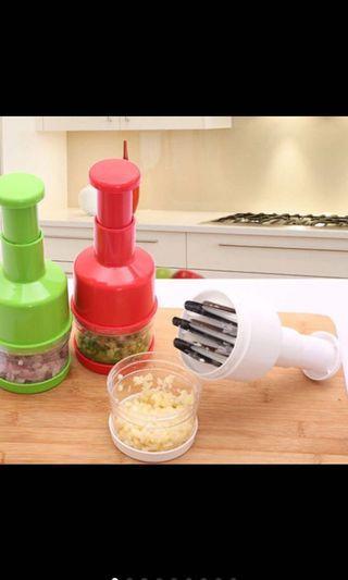 手壓式不鏽鋼切菜器