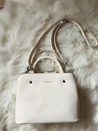 Vincci Off White Sling Bag