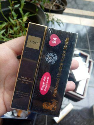 Paket Purbasari & YOU lipstick