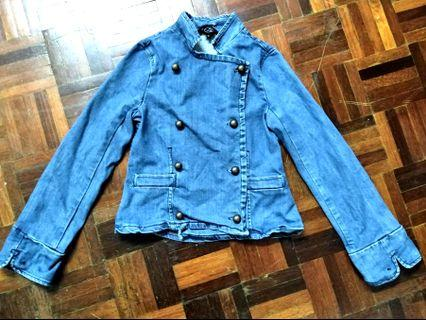 Little Marc Jacobs denim military jacket