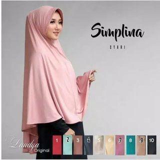 Hijab syar i bagus banget bahan spandek balon
