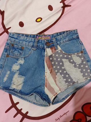 Hotpants Jeans pendek
