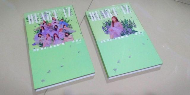 [WTS] izone iz*one heart*iz cover and mini booklet