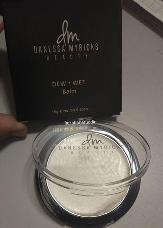 Ready Stock Danessa Myricks Beauty Dew Wet Balm Highlighter in Morning Dew