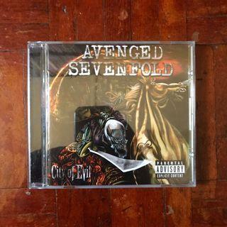 Avenged Sevenfold - City of Evil (2005) CD Album
