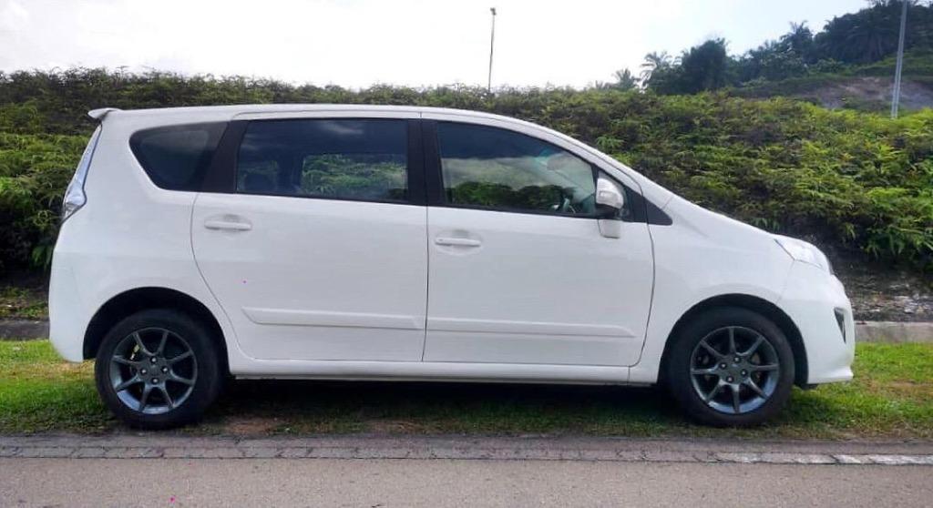 2014 Perodua ALZA 1.5 EZI (A) B/L LOAN KEDAI DP 3K
