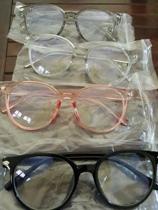 Kacamata fashion antiradiasi 10rb minim beli 2 pcs