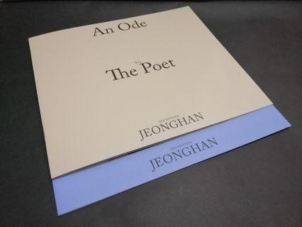 WTB An Ode Jeonghan Mini Photobooks