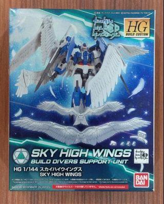 萬代 BANDAI 潛網大戰  HGBC 042 擎空翼 天使翅膀特效 Sky High Wings