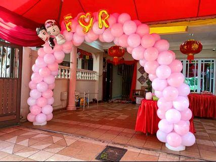 Wedding Balloon. Arch