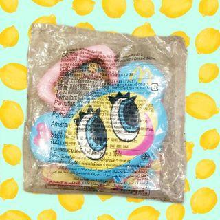 2005年絕版日本麥當勞nakamura-kun handbag玩具手提盒子玩具Angel blue收藏日版正版