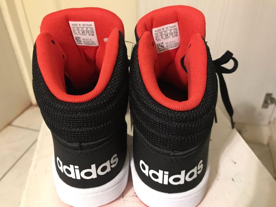 愛迪達高筒鞋21cm