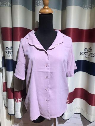 Pazzo S號 紫色雲朵襯衫
