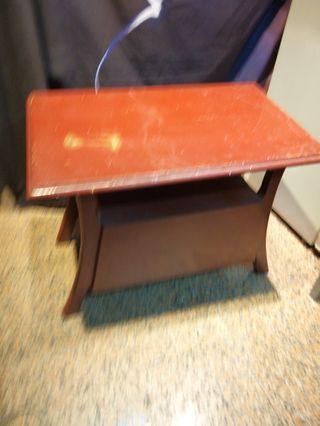 古早小木桌 已經是古董了真材實料