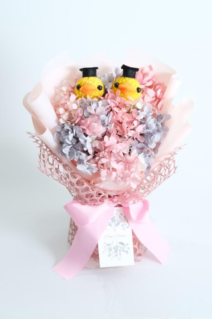 畢業小雞雞日本保鮮花花束