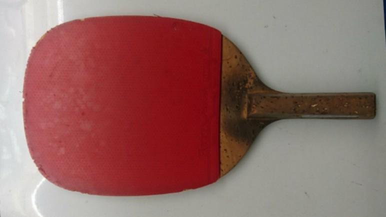 蝴蝶牌桌球拍 -檜木9夾6099