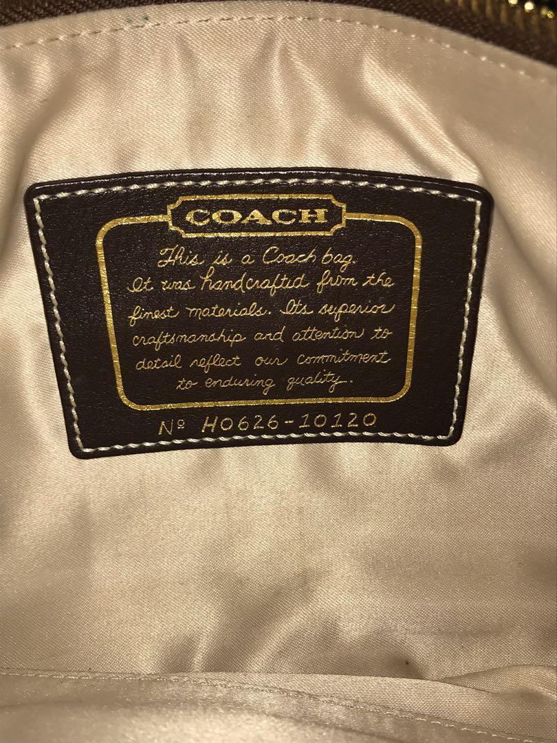 💛 EUC Authentic Gold Coach Purse 💛