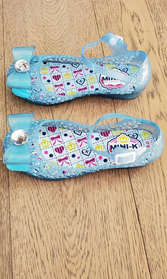 女童公主鞋 US12 EUR29 (冇盒,平放,買返嚟試咗唔啱著)