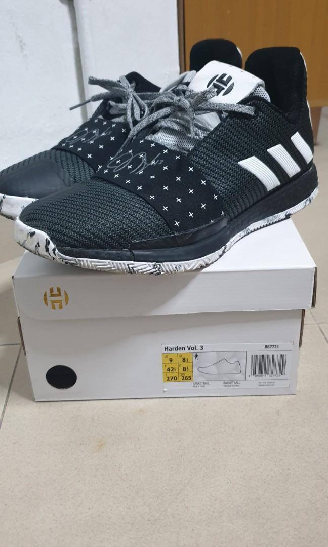 Adidas Harden Vol 3 US9