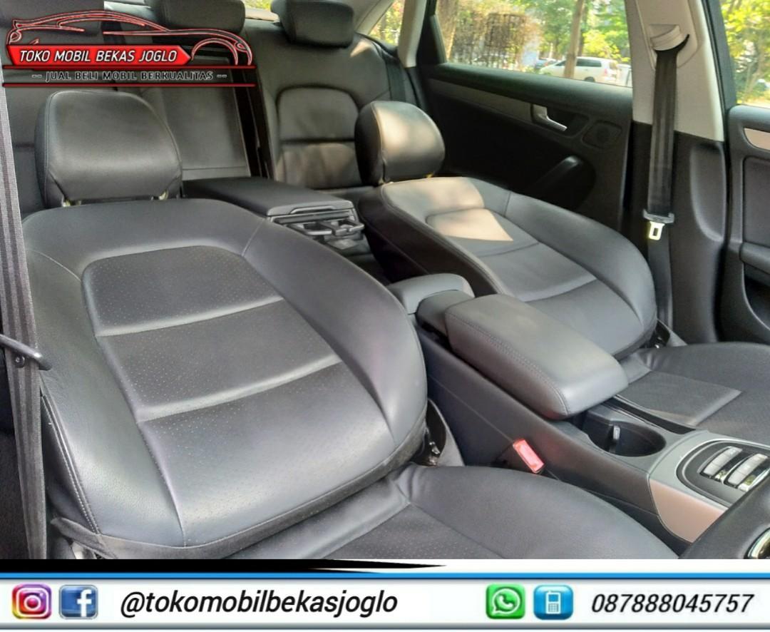 AUDI A4 1.8 TFSI Facelift 2013 Silver DP 40jt Kondisi Istimewa Dan Siap Pakai