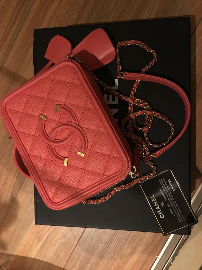 Authentic Mini Chanel Vanity