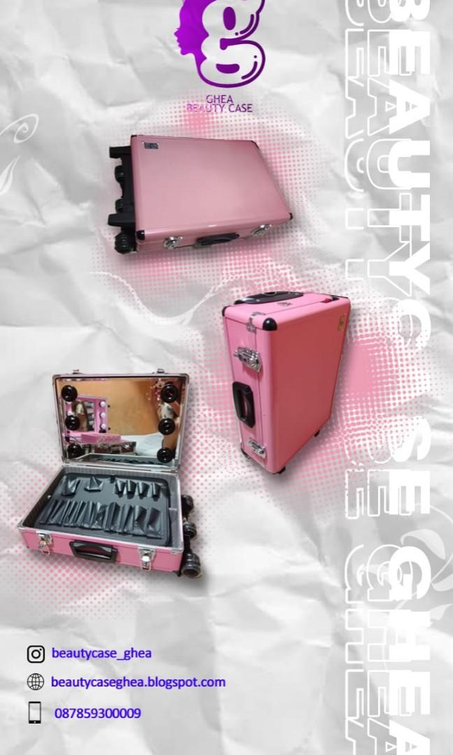 beautycase koper makeup