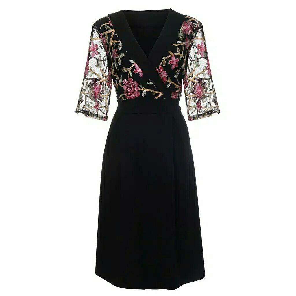 [Big Size] floral dress